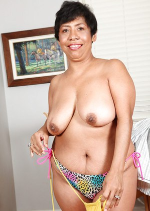 Mature latin granny