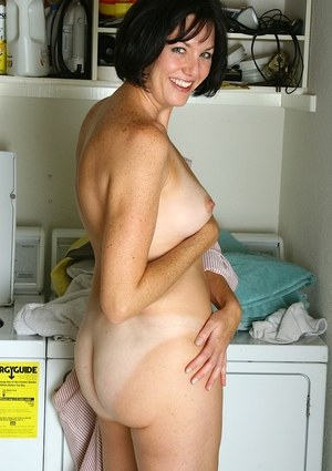 Kitchen mature granny